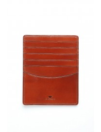 GRAND PORTE CARTES CUIR COGNAC