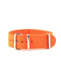 BRACELET NATO UNI ORANGE - NATO NYLON