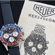 Lorsque nous arrive cette magnifique Tag Heuer Autavia GMT Pepsi Vintage dans nos ateliers, nous savons qu'il va falloir respecter les traditions pionnières de la marque, ses performances, mais aussi, déjà, une tradition ancrée chez Tag Heuer des bracelets élégants. C'est pourquoi nous avons choisi un bracelet en cuir de veau bleu marine.  Le lien de la e-boutique est en bio pour commander en ligne !  #bracelet #montre #tagheuer #autavia #watch