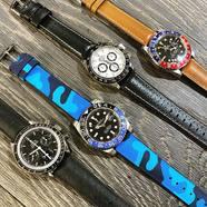 Hirsch Straps Combo 🙅🏻  #hirschthebracelet #hirschstrap #dressupyourwatch #bracelet #montre #watch
